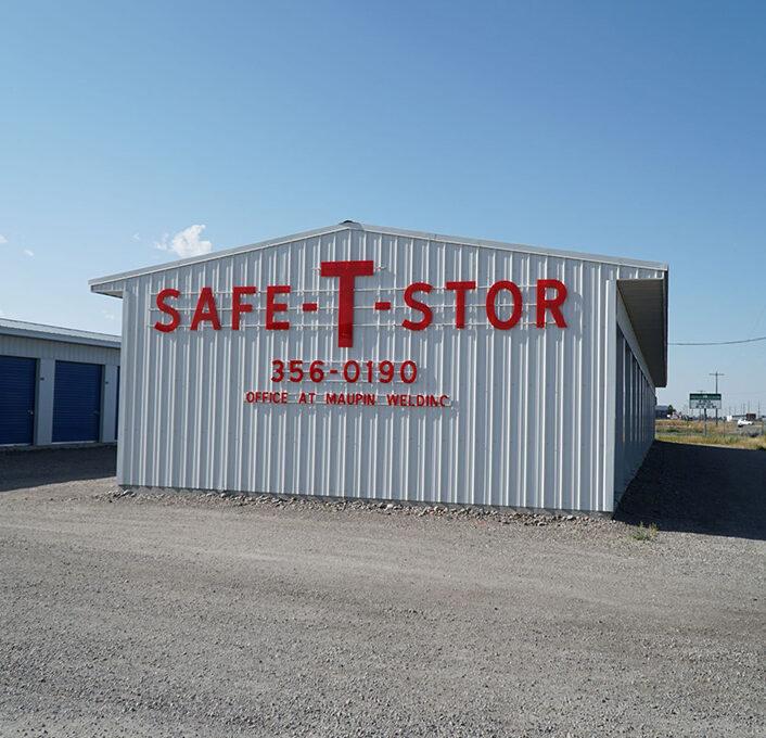 Safe-T-Stir Sign